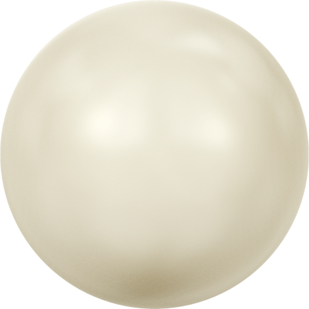 Swarovski Crystal Pearls (Round Large-Hole) Crystal Cream Pearl 5811 16 MM