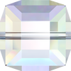 Swarovski Crystal Bead (Cube) Crystal AB 5601 8 MM