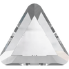 Swarovski Hot Fix Flat Back Crystals (Triangle) Crystal Folied 2711 / 6 MM