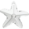 Swarovski Crystal Pendant (Starfish) Crystal  6721 40 MM (8818)