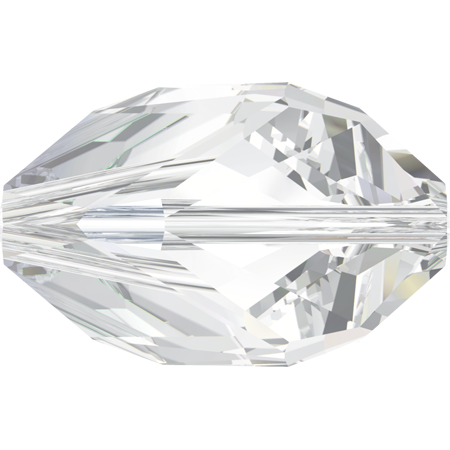Swarovski Crystal Bead (Cubist) Crystal 5650 16 X 10 MM