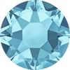 Swarovski Hot Fix Flat Back Crystals (Round) Aquamarine Foiled 2078 SS 20