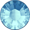 Swarovski Hot Fix Flat Back Crystals (Round) Aquamarine Foiled 2038 SS 34