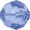 Swarovski Crystal Bead (Round) Light Sapphire 5000 8 MM