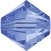 Swarovski Crystal Bead (Bicone) Light Sapphire 5328 4 MM