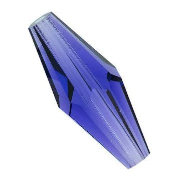 Swarovski Crystal Bead (Elongated Bicone) Sapphire 5205 15 X 6 MM