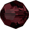 Swarovski Crystal Bead (Round) Burgundy 5000 8 MM