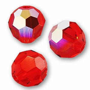 Swarovski Crystal Bead (Round) Hyacinth AB 5000 8 MM