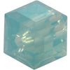Swarovski Crystal Bead (Cube) Pacific Opal 5601 8 MM