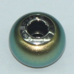 BeCharmed Pearl Iridescent Green 5890 / 14 mm Steel