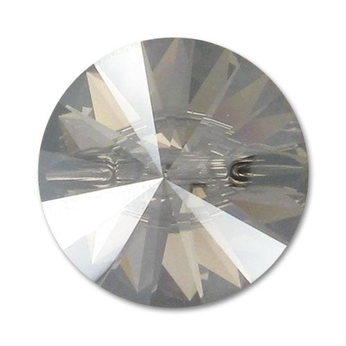 Swarovski Crystal Button (Rivoli) Crystal Satin Foiled 3015 27 MM