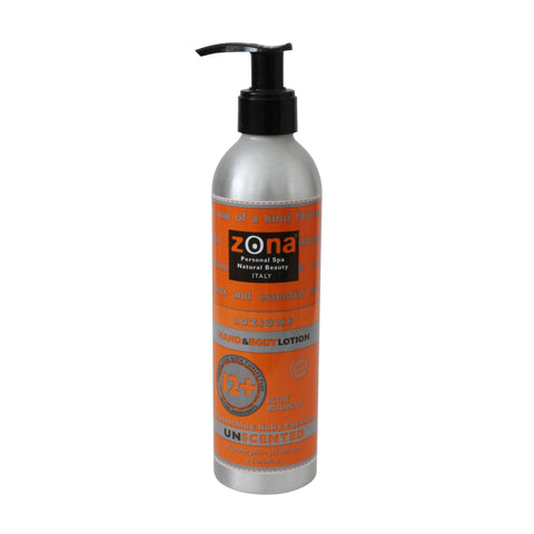 Lozione - Hand & Body Lotion - 8 oz. 240 ml.
