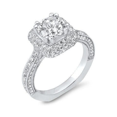 Beautiful 1.49CT Engagement Ring