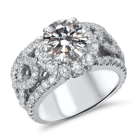 14K White Gold 1K Diamond