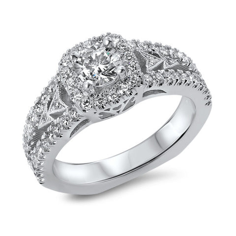 .52 Round Diamond Engagement Ring