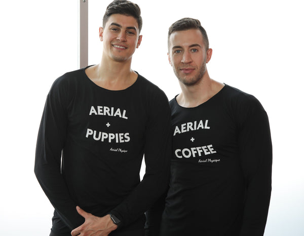 Limited Edition | Aerial + Puppies Long Sleeve Top