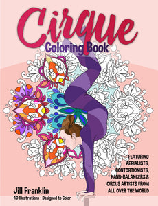 CIRQUE Coloring Book - Digital Download