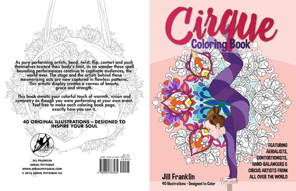 CIRQUE Coloring Book