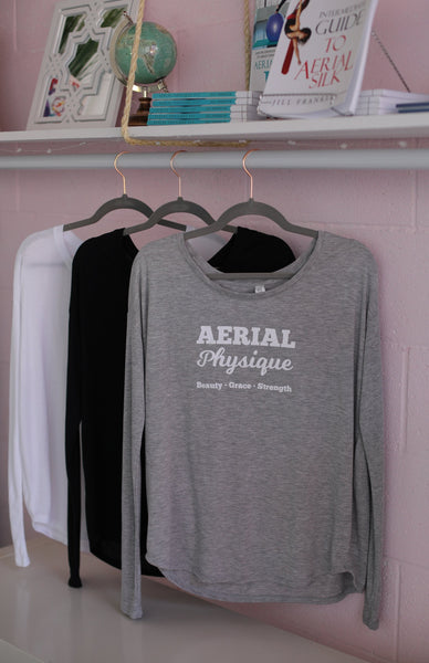 Aerial Physique Long Sleeve Tee