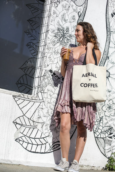 Limited Edition | Aerial + Coffee Tote Bag