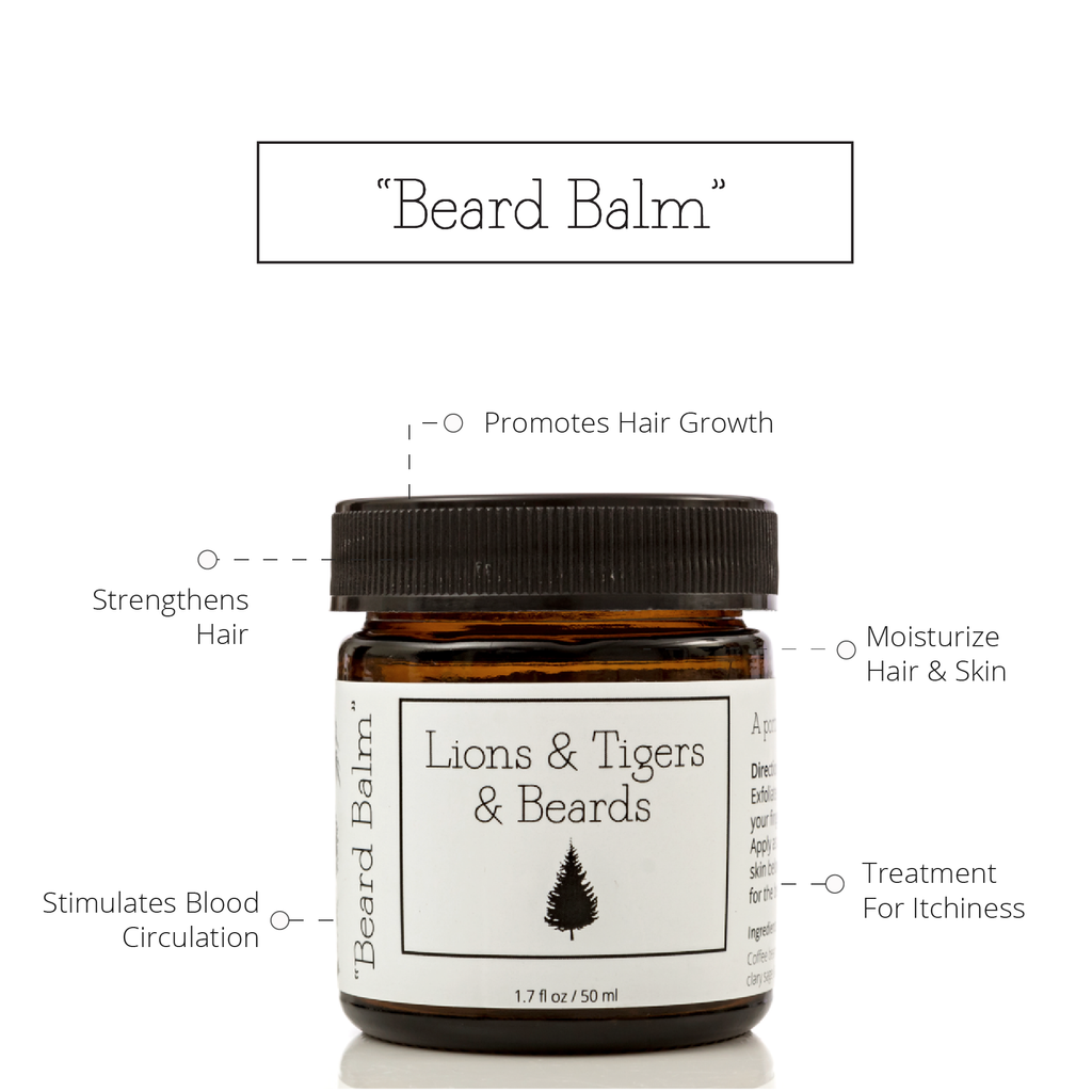 Beard Balm Lions Tigers Beards