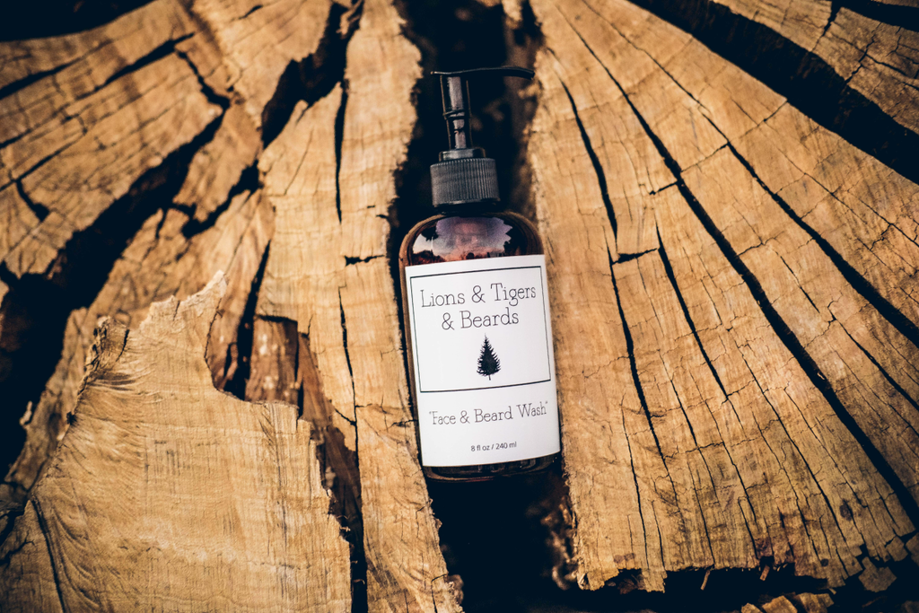 Face & Beard Wash 8 oz.