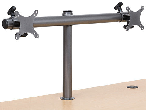 Dual LCD Spider Monitor Arm - Standing Desk Converter - 6