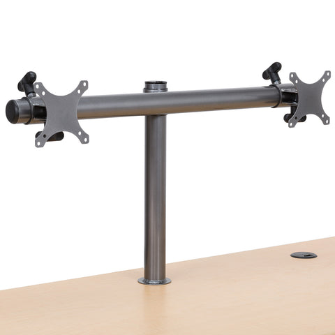 Dual LCD Spider Monitor Arm - Standing Desk Converter - 1