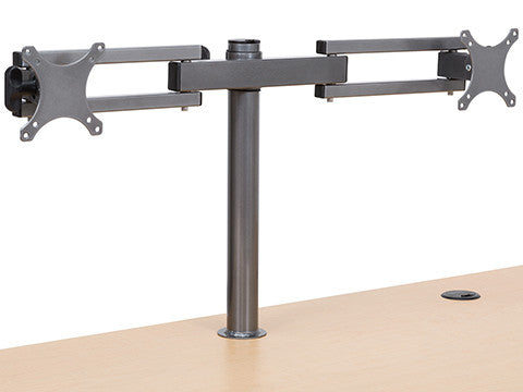 Dual LCD Spider Monitor Arm - Standing Desk Converter - 8