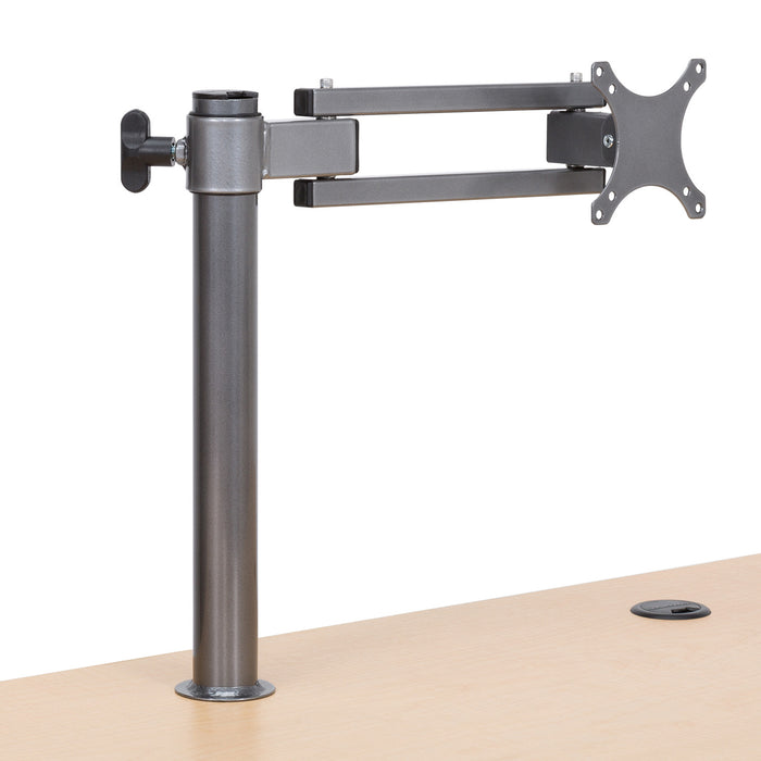 Single LCD Monitor Arm - Standing Desk Converter - 9