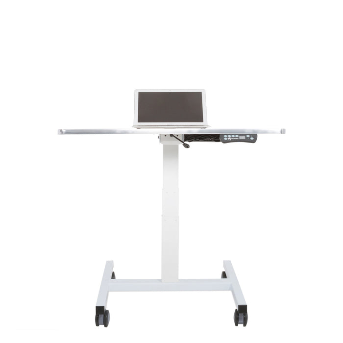 Sit to Stand Power Cart - Standing Desk Converter - 5