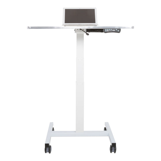 Sit to Stand Power Cart - Standing Desk Converter - 2