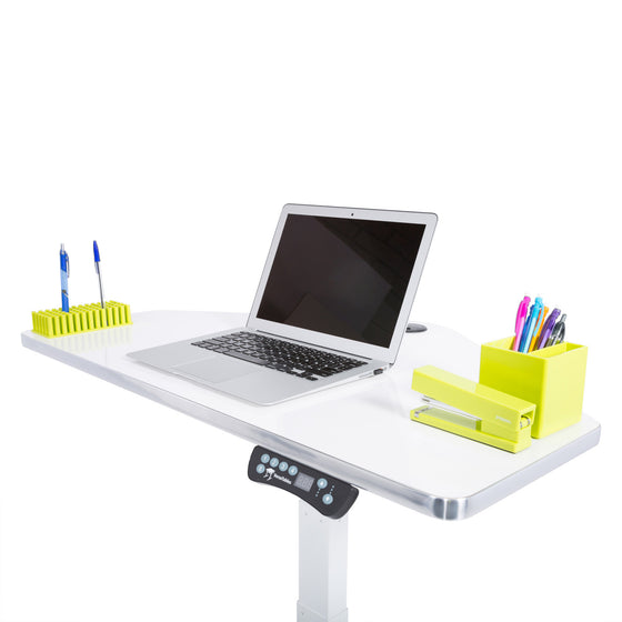 Sit to Stand Power Cart - Standing Desk Converter - 4