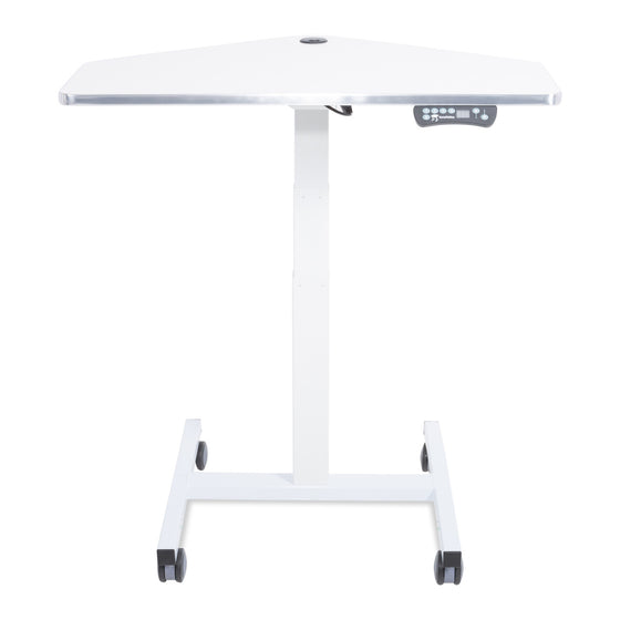 Sit to Stand Power Cart - Standing Desk Converter - 3
