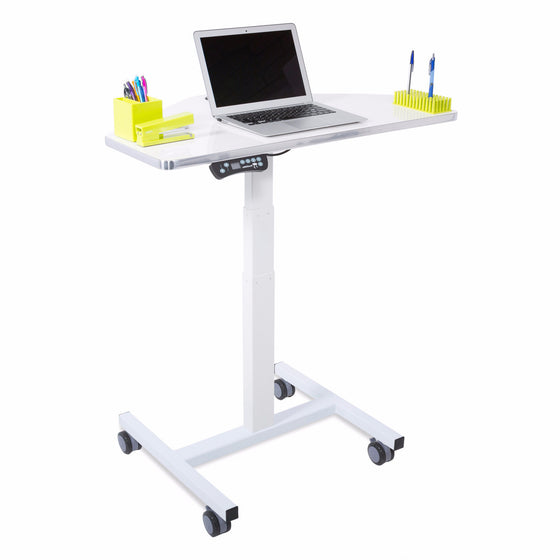 Sit to Stand Power Cart - Standing Desk Converter - 1