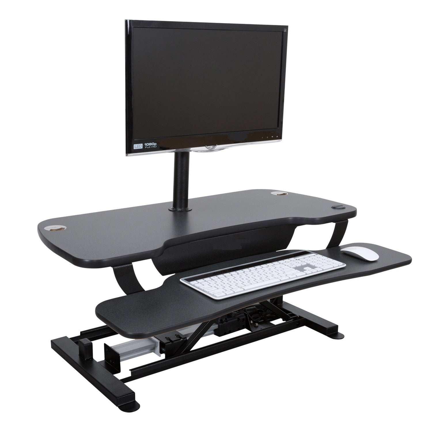 Motorized Standing Desk Sit Stand Workstation Benefits