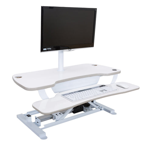 Power Converter - White - Standing Desk Converter - 1
