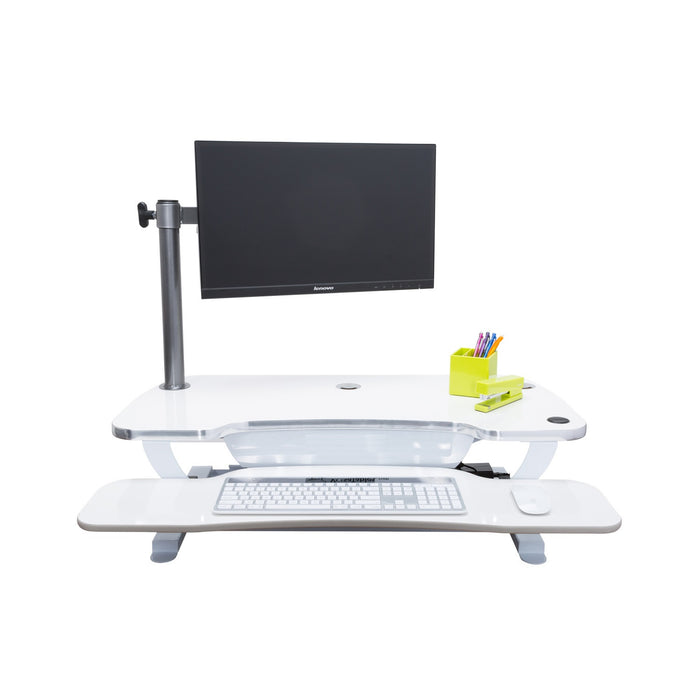 Single LCD Monitor Arm - Standing Desk Converter - 2