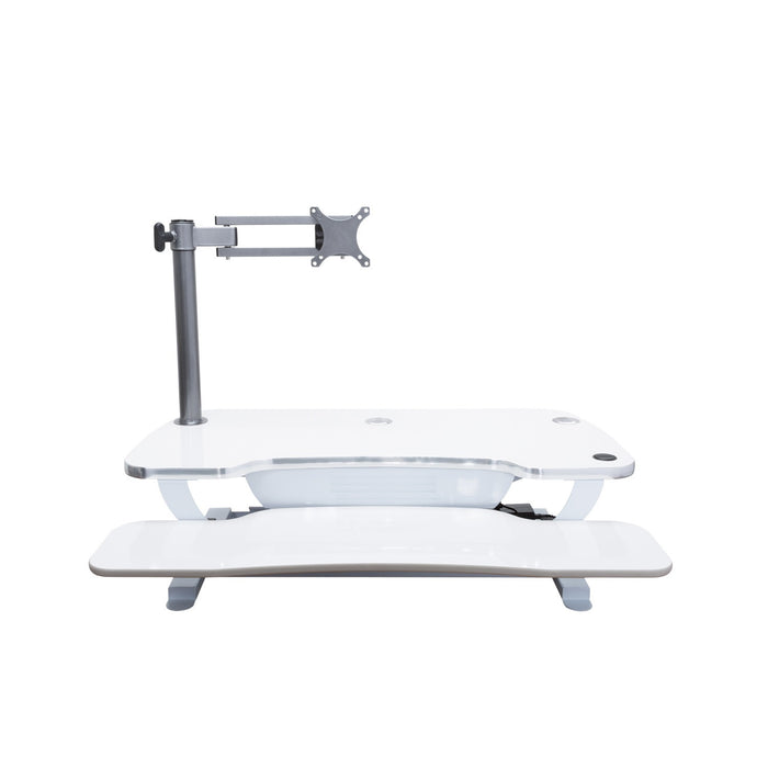Single LCD Monitor Arm - Standing Desk Converter - 4