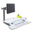 Single LCD Monitor Arm - Standing Desk Converter - 3