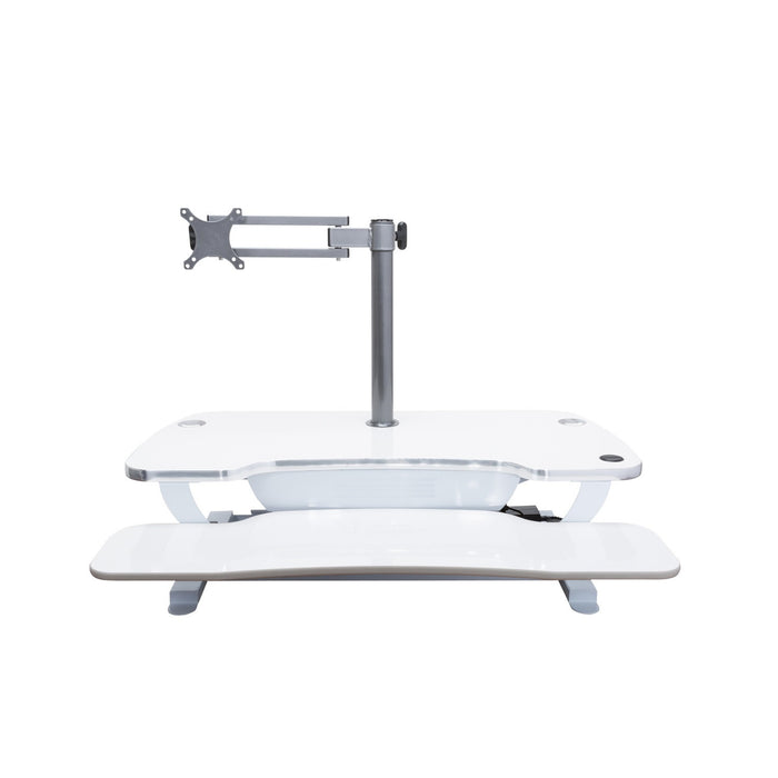 Single LCD Monitor Arm - Standing Desk Converter - 5