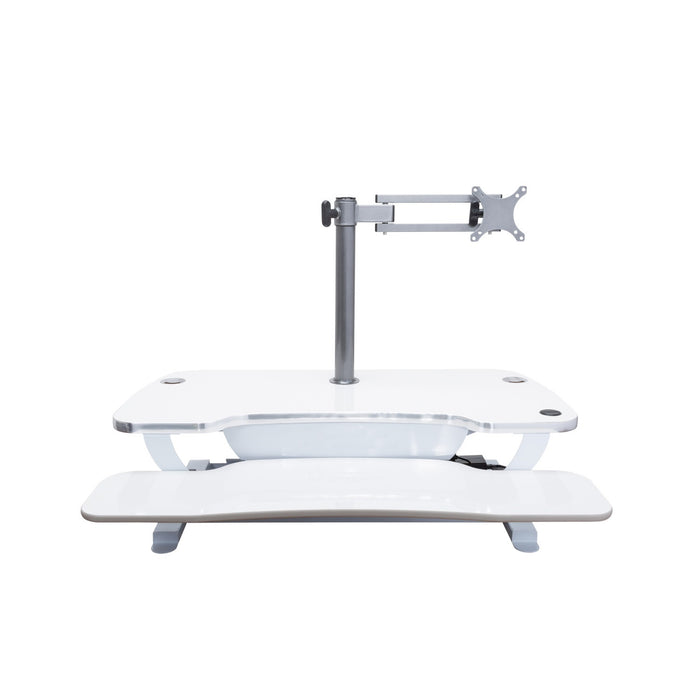 Single LCD Monitor Arm - Standing Desk Converter - 7