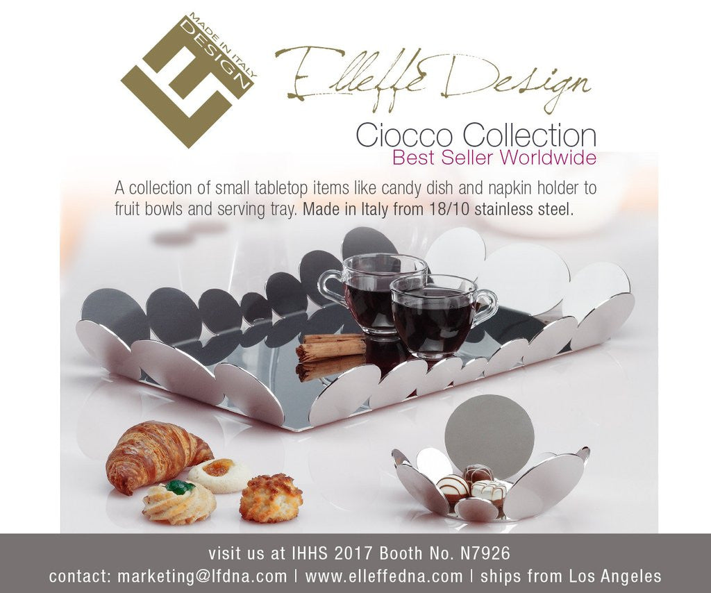 International Home and Housewares Show 2017 (IHHA 2017) is The Official Launch for Elleffe Design Luxury Stainless Steel
