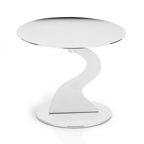 8 inch cake stand in stainless steel 18/10 grade