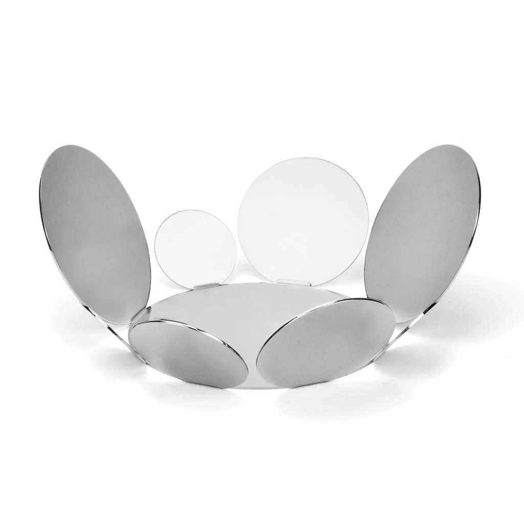 Serving fruit basket in Stainless steel 18/10 grade