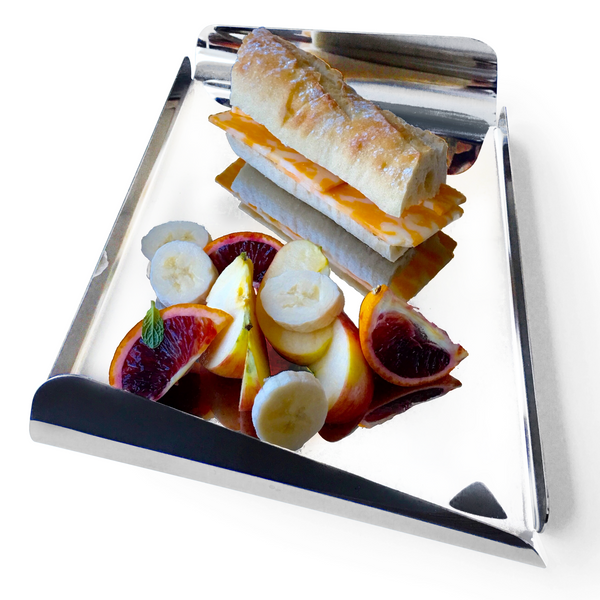 Sandwhich Tray in Stainless Steel 18/10 Grade Elleffe Design