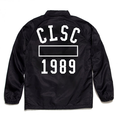 P.E Coaches Jacket Black