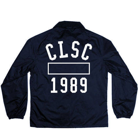P.E Coaches Jacket Navy