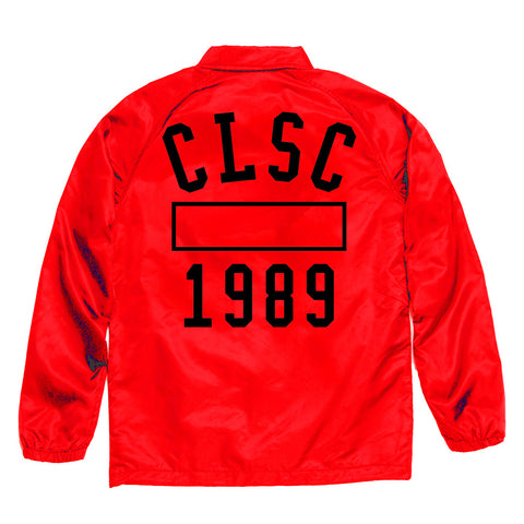 P.E Coaches Jacket Red