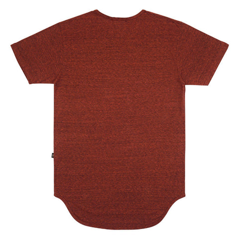 Dusty Red Tri-Blend Long Tee